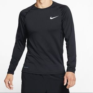 NWT XL Nike Pro Cool Compression Long Sleeve